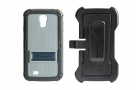 360 Full Impact Protection Rugged Case for Samsung S4 with X-Mount Holster (Navy)