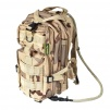 Back Pack Medium w/Hydration System (Desert 3 Colors)  100% nylon