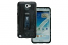 Case-X Series - Rugged Case for Samsung Galaxy Note II with X-Mount System + Belt Clip (Black)