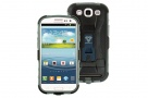 Case-X Series - Rugged Case for Samsung Galaxy S3 with X-Mount System + Belt Clip (Black & Grey)