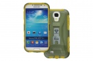 Case-X Series - Rugged Case for Samsung Galaxy S4 with X-Mount System + Belt Clip (Green)